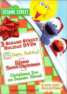Sesame Street Holiday DVD 3 Pack Movie