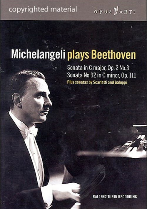 Michelangeli Plays Beethoven Movie