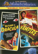 Return Of Dracula, The / The Vampire (Double Feature) Movie