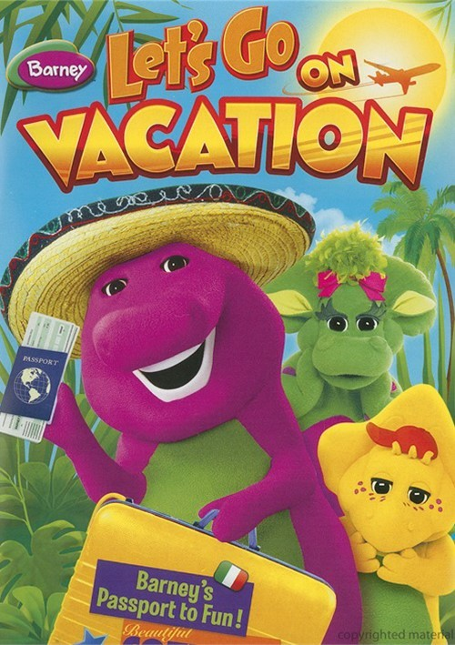 Vacation Dvd Empire: Barney: Let's Go On Vacation (DVD)