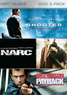 Shooter / Narc / Payback (Holiday 2009 Box Set) Movie
