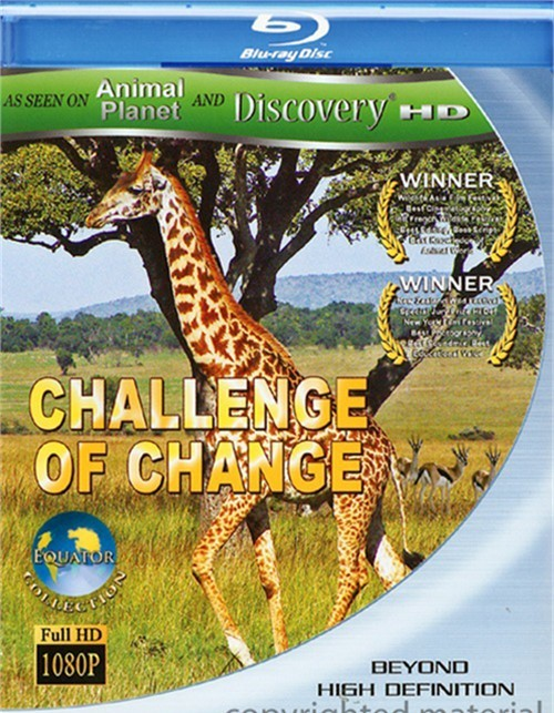 Challenge Of Change Blu-ray