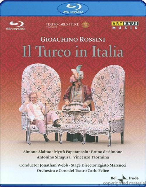 Gioachino Rossini: Il Turco In Italia Blu-ray