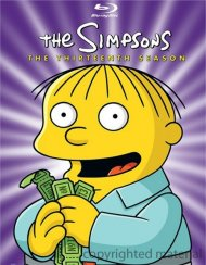 Simpsons, The: The Thirteenth Season Blu-ray