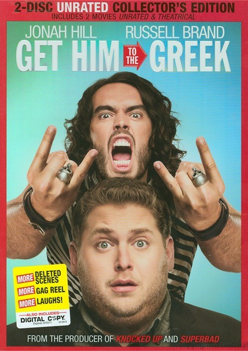 Get Him To The Greek: Unrated - Collectors Edition Movie