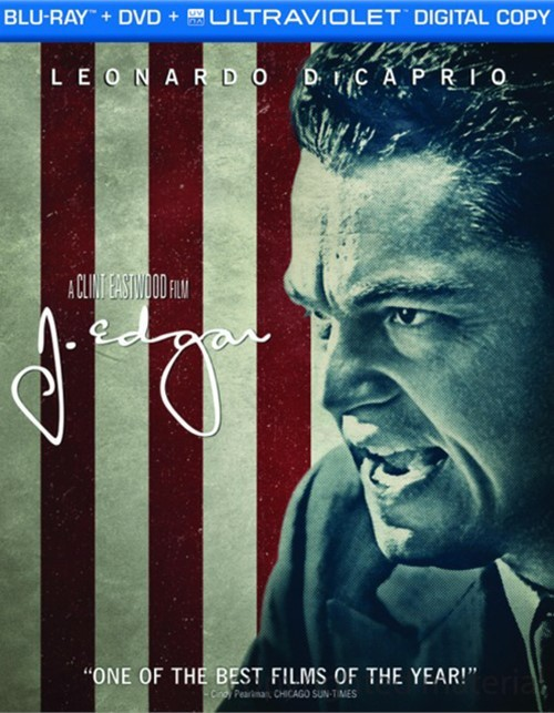 J. Edgar (Blu-ray + DVD + Digital Copy) Blu-ray