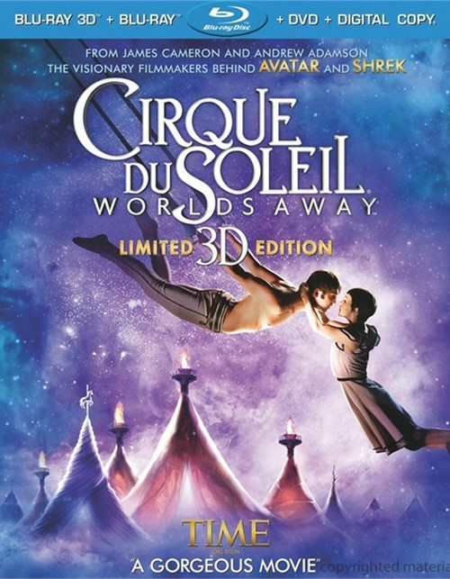Cirque Du Soleil: Worlds Away 3D (Blu-ray 3D + Blu-ray + DVD + Digital Copy + UltraViolet) Blu-ray