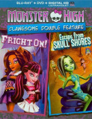 Monster High: Clawsome Double Feature (Blu-ray + DVD + UltraViolet) Blu-ray