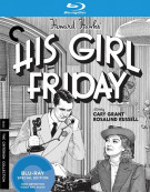 His Girl Friday Blu-ray