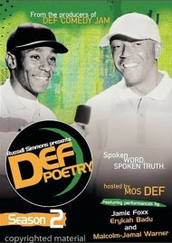 Russell Simmons Presents: Def Poetry - Season 2 Movie