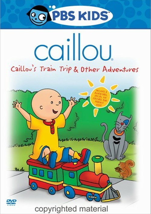 Caillou: Caillous Train Trip And Other Adventures Movie