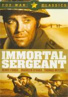 Immortal Sergeant Movie