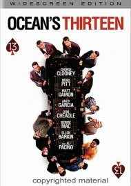 Oceans Thirteen (Widescreen) Movie