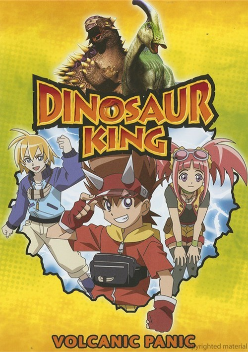 Dinosaur King: Volcanic Panic Movie
