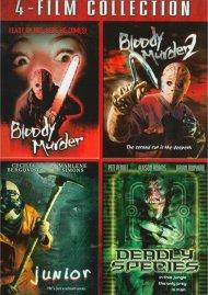 Bloody Murder/Bloody Murder 2/Junior/ Deadly Species Movie