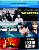 Executive Decision / Point Break / Swordfish (Triple Feature) Blu-ray