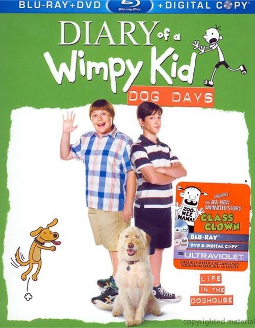 Diary Of A Wimpy Kid Dog Days Blu Ray
