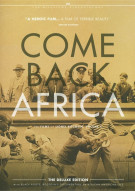 Come Back, Africa: The Films Of Lionel Rogosin - Volume Two Movie