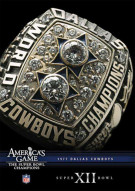 NFL Americas Game: 1977 Dallas Cowboys Super Bowl XII Movie