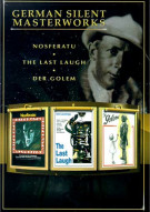 German Silent Masterworks: Nosferatu/ The Last Laugh/ Der Golem Movie