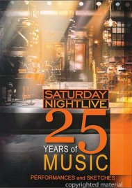 Saturday Night Live: 25 Years Of Music - Performances and Sketches Movie