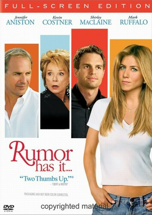 Rumor Has It... (Fullscreen) Movie
