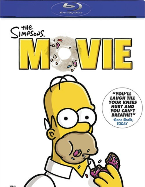 simpsons movie the bluray 2007 dvd empire