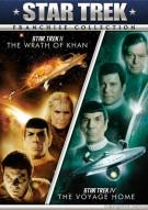 Star Trek II: The Wrath Of Khan / Star Trek IV: The Voyage Home (Double Feature) Movie