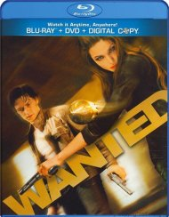Wanted (Blu-ray + DVD + Digital Copy) Blu-ray