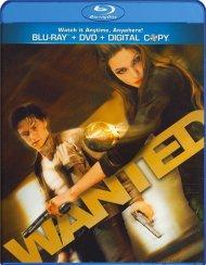 Wanted (Blu-ray + DVD + Digital Copy) Blu-ray