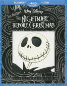 Nightmare Before Christmas, The: Collectors Edition (Blu-ray + DVD Combo) Blu-ray