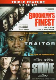 Brooklyns Finest / Traitor / Stone (Triple Feature) Movie