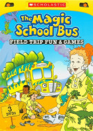 Magic School Bus, The: Field Trip Fun And Games (3 Pack) Movie