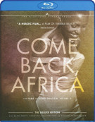 Come Back, Africa: The Films Of Lionel Rogosin - Volume Two Blu-ray