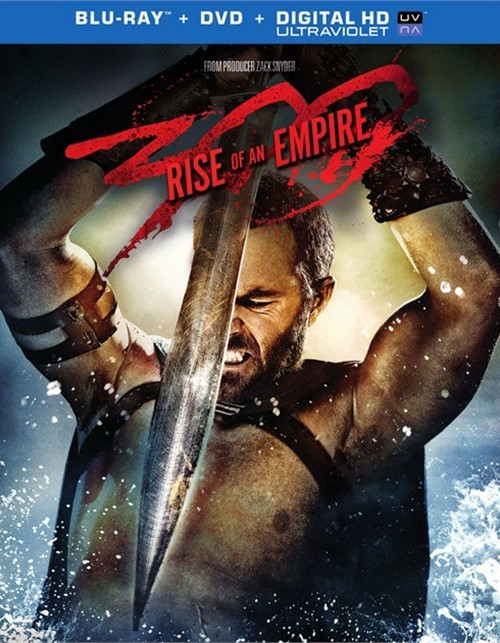 300: Rise Of An Empire (Blu-ray + DVD + UltraViolet) Blu-ray