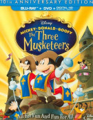 Three Musketeers, The (Blu-ray + DVD + Digital HD) Blu-ray