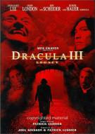 Dracula III:  Legacy Movie