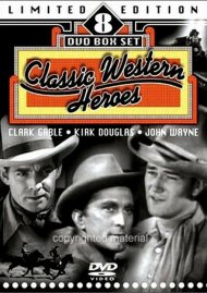 Classic Western Heroes: Limited Edition 8 DVD Box Set Movie