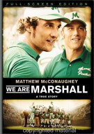 We Are Marshall (Fullscreen) Movie
