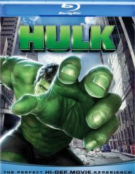 Hulk, The Blu-ray