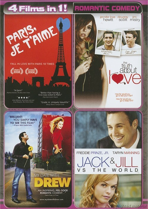 4 Movies In 1!: Romantic Comedy Movie