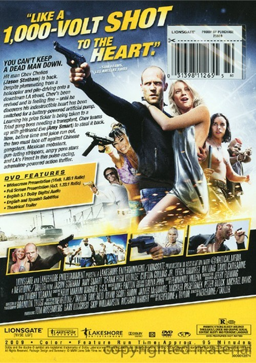 Crank 2 high voltage movie review