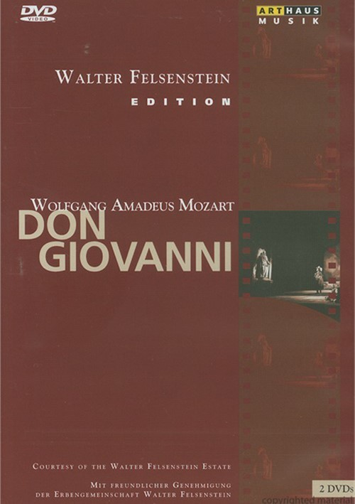 Walter Felsenstein Edition: Mozart - Don Giovanni Movie