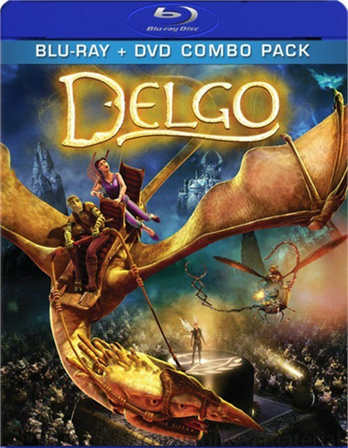 Delgo (Blu-ray + DVD Combo) Blu-ray