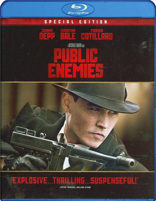 Public Enemies Blu-ray