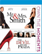 Mr. & Mrs. Smith / The Devil Wears Prada (Double Feature) Blu-ray
