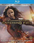 Hunger Games, The: Catching Fire (4K Ultra HD + Blu-ray + UltraViolet) Blu-ray