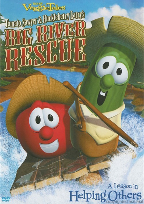 Veggie Tales: Tomato Sawyer And Huckleberry Larrys Big River Rescue Movie