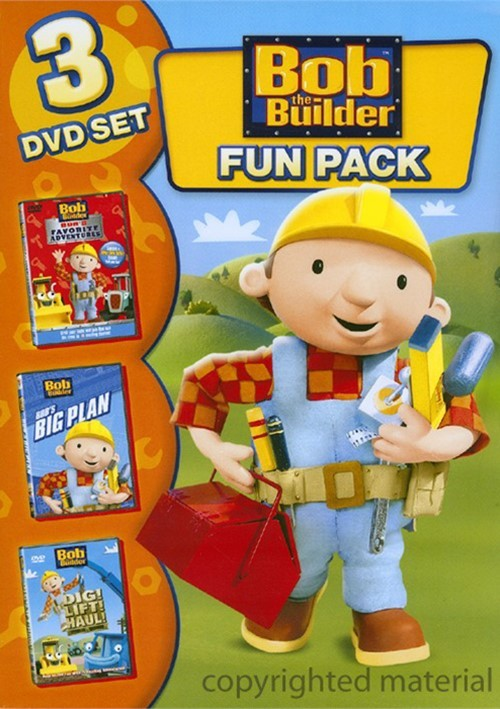 Bob The Builder Fun Pack Movie