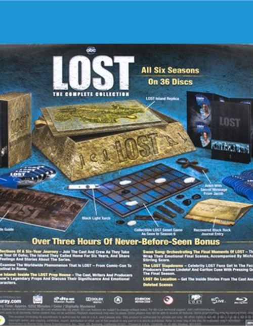 Lost The Complete Collection Blu Ray 2004 Dvd Empire